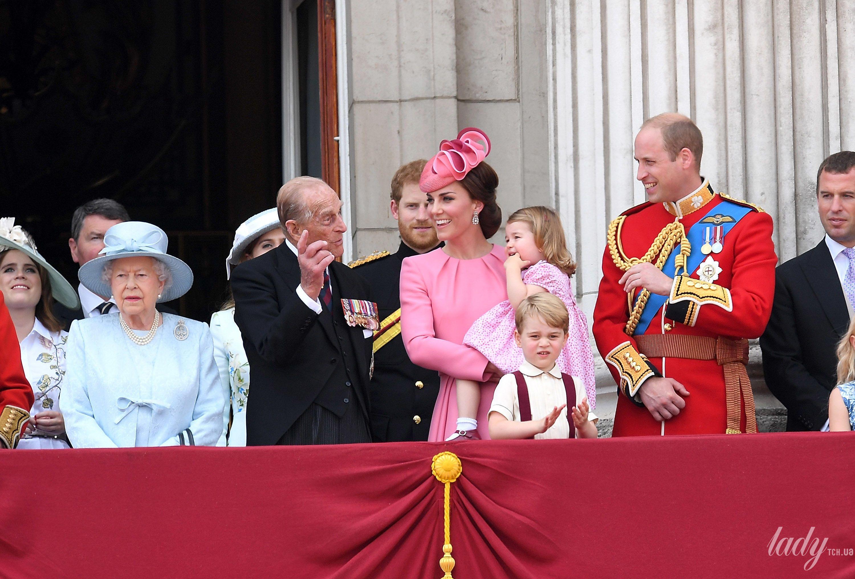 Кембриджи и принц Филипп