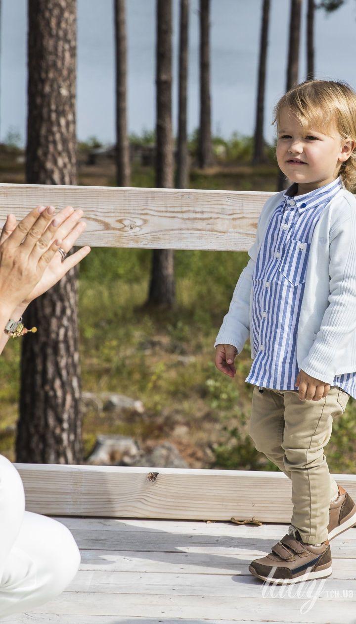 Принцесса София с сыном Александром