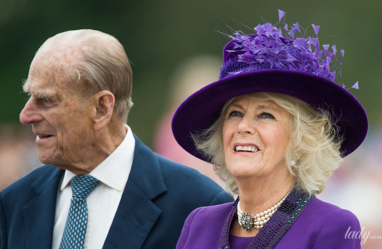 Принц Филипп и герцогиня Камилла