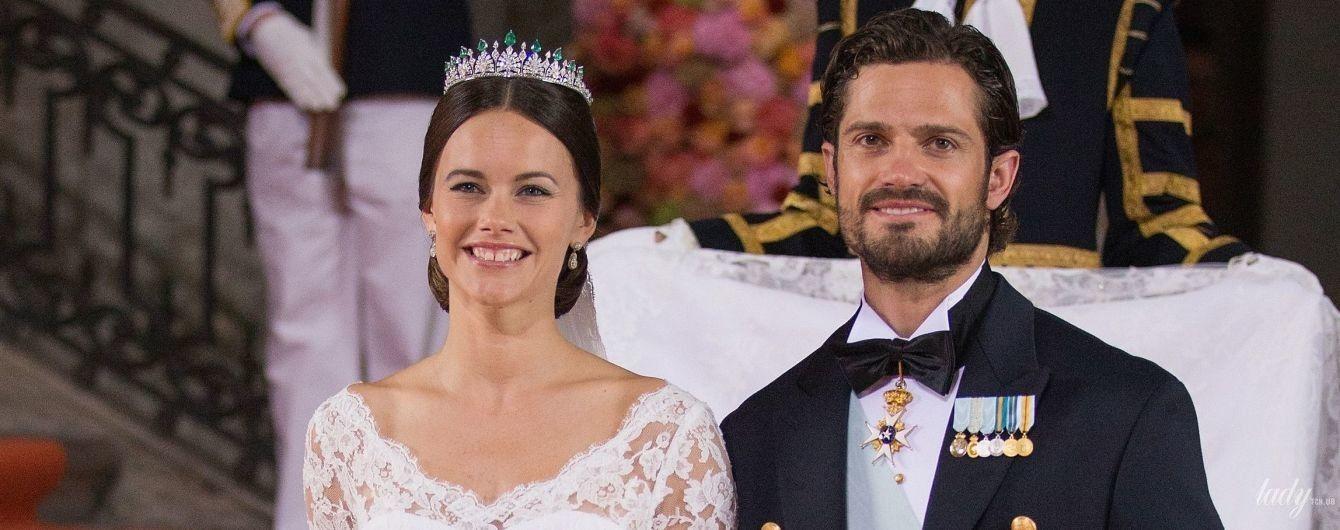Празднуют деревянную свадьбу: история любви шведского принца Карла Филиппа и принцессы Софии