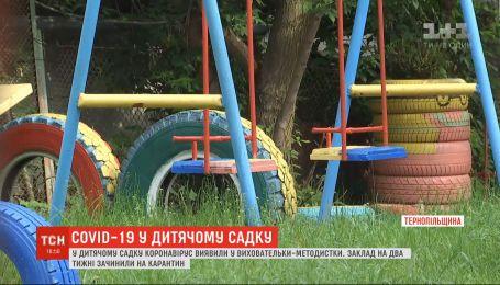 У Тернополі на карантин закрили дитячий садок через коронавірус