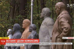 В некоторых областях памятники советским деятелям до сих пор остаются не декоммунизованными