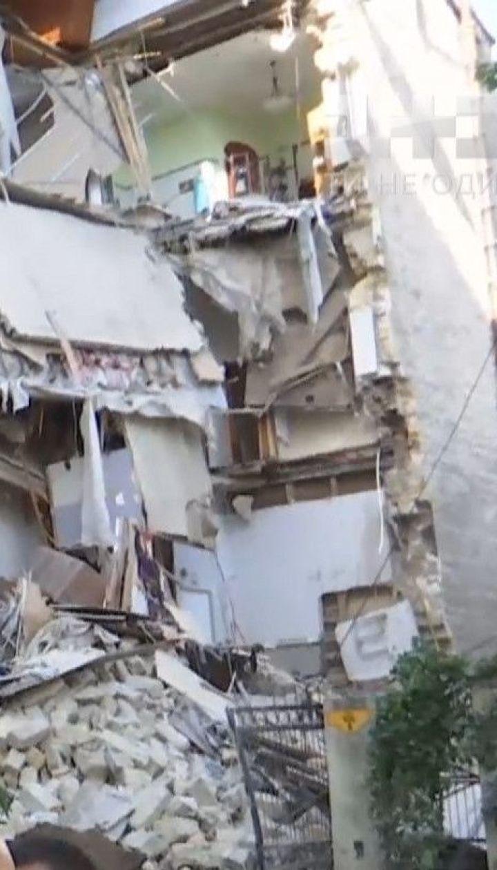 Обвал дома в Одессе: что будут делать люди, которые остались без крыши над головой