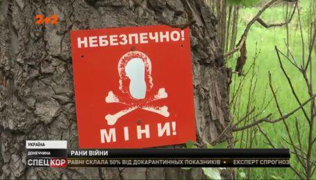 Один украинский военный получил ранение во время обстрелов на Донбассе