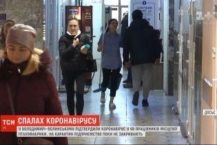 На птицефабрике во Владимире-Волынском 48 работников заболели COVID-19