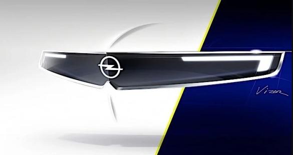Opel Vizor на тизері