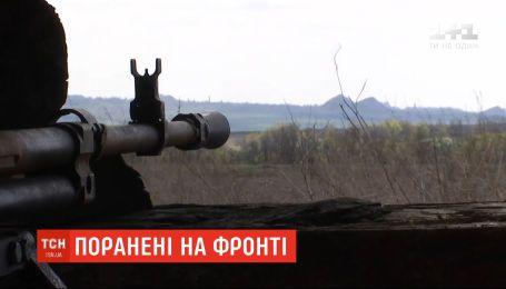 На східному фронті двоє українських військових зазнали поранень
