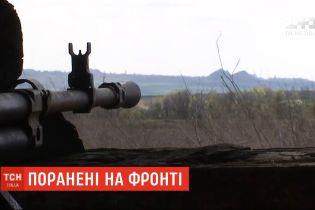На восточном фронте двое украинских военных получили ранения