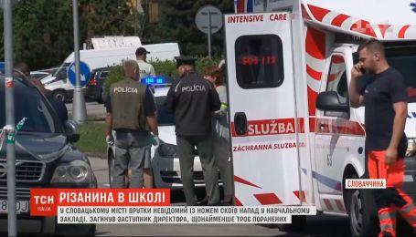 В словацкой школе бывший ученик устроил кровавую резню