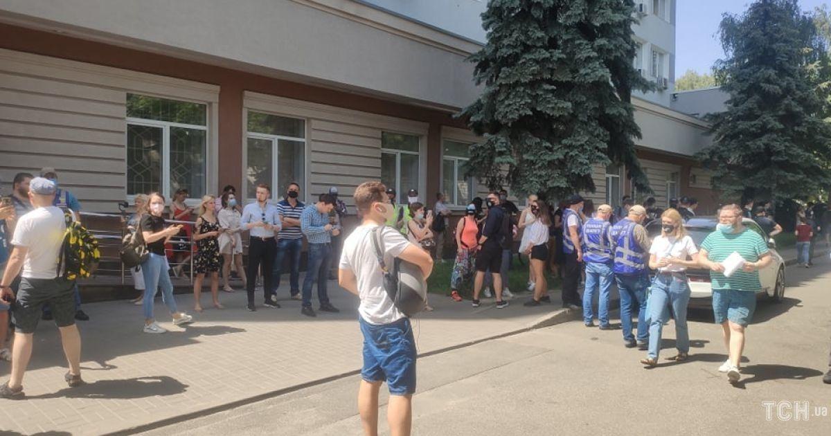 Суд по делу Стерненка @ фото: Наталия Нагорная