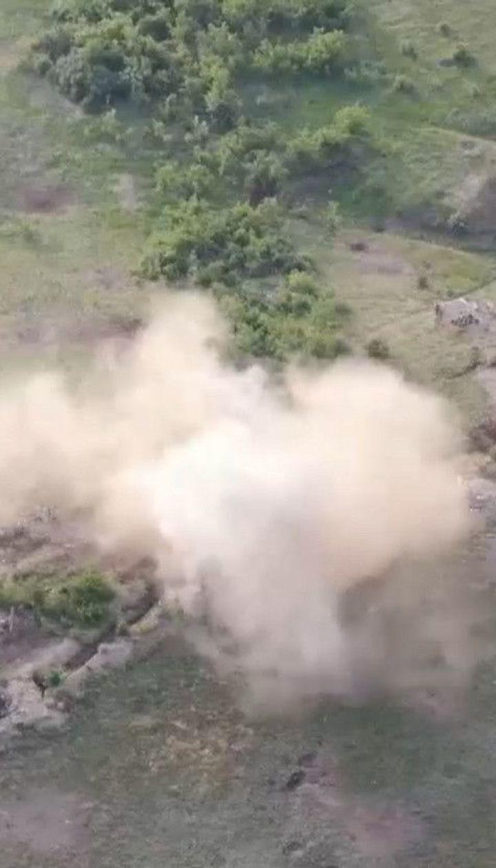 Бойовики провели масований обстріл українських позицій на фронті