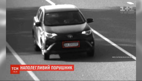 Камери автофіксації помітили автівку, яка перевищила швидкість 12 разів за день