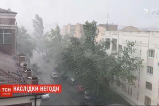 Погодные сюрпризы: внезапный и мощный ливень пронесся Киевом