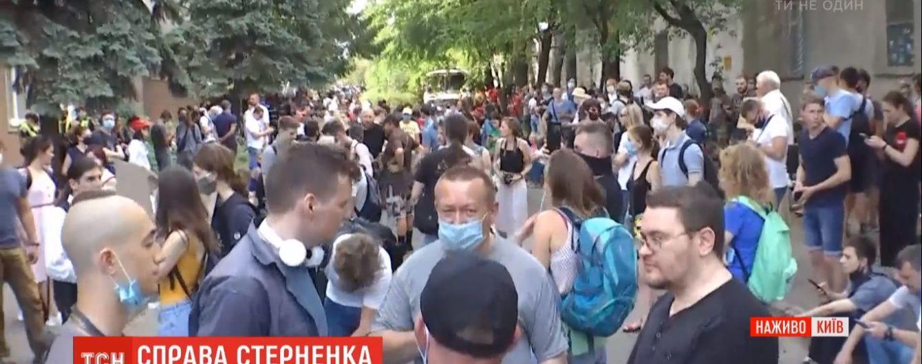 Учасника мітингу на підтримку Стерненка звинуватили за статтею, якої не існує