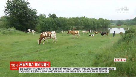 У Львівській області блискавка забрала життя 15-річного школяра