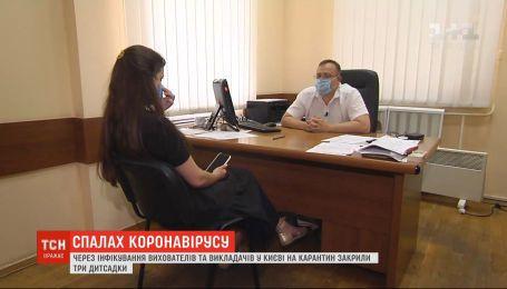 В Киеве случились вспышки коронавируса среди работников образования