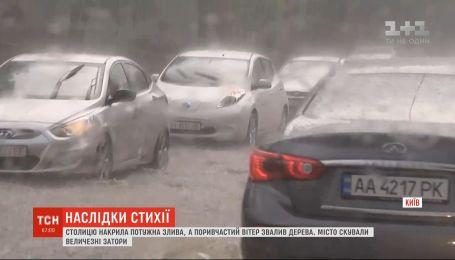 Синоптики прогнозируют дожди и грозы почти по всей Украине
