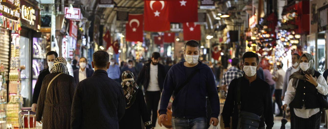 У Туреччині заявили про другий пік пандемії коронавірусу