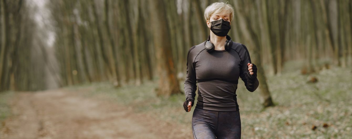 Спорт во время пандемии COVID-19: интенсивные упражнения в маске могут быть опасными