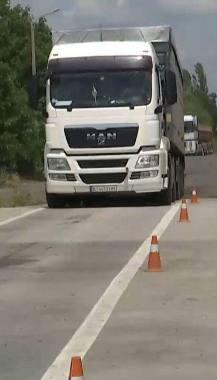 З липня в Україні запрацює автоматична система зважування на дорогах