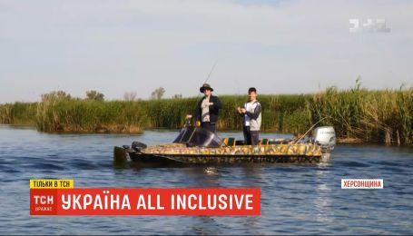 Україна All inclusive: ТСН продовжує розвідувати туристичні принади Херсонської області