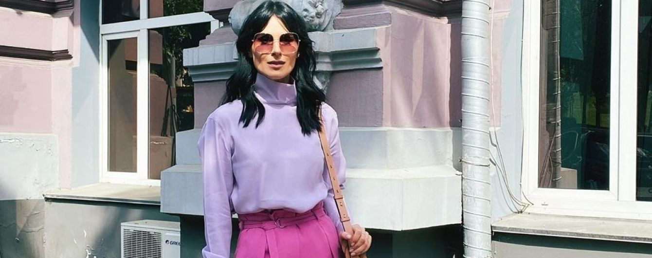 В сиренево-розовых оттенках: Маша Ефросинина похвасталась стильным луком