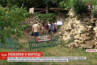 Фортецю, якій понад 500 років, намагаються реставрувати у Вінницькій області