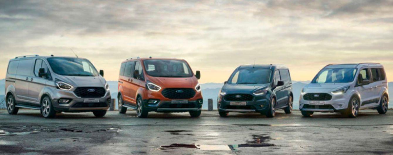 Ford представив серію позашляхових мікроавтобусів Transit