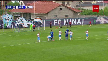 Минай - Динамо - 0:1. Видео незабитого гола Фран Соля с пенальти