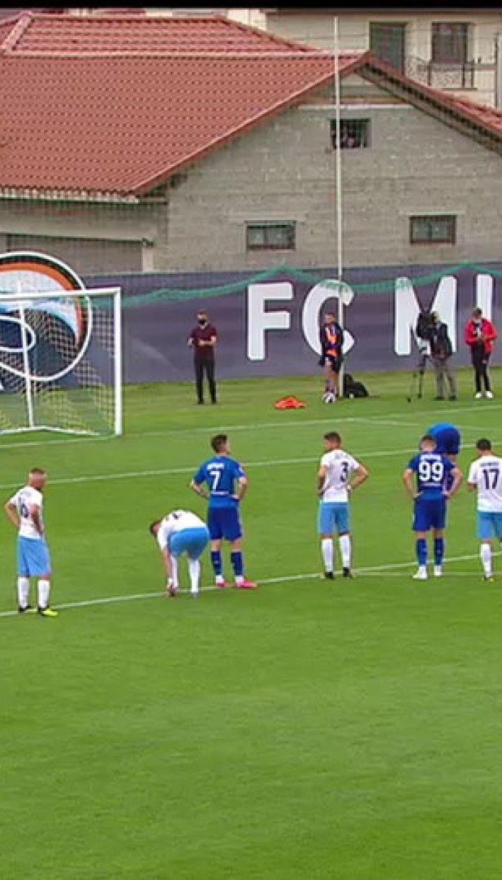 Минай - Динамо - 0:1. Відео незабитого голу Фран Соля з пенальті