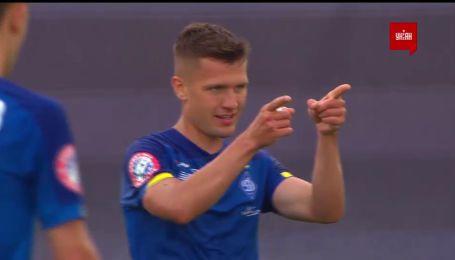 Минай - Динамо - 0:2. Видео гола Дуелунда