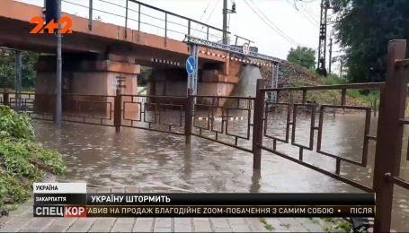Каких неприятностей нанесла непогода всей Украине
