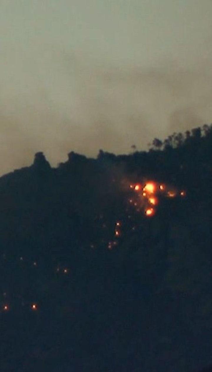 В американском штате Аризона горит национальный заповедник