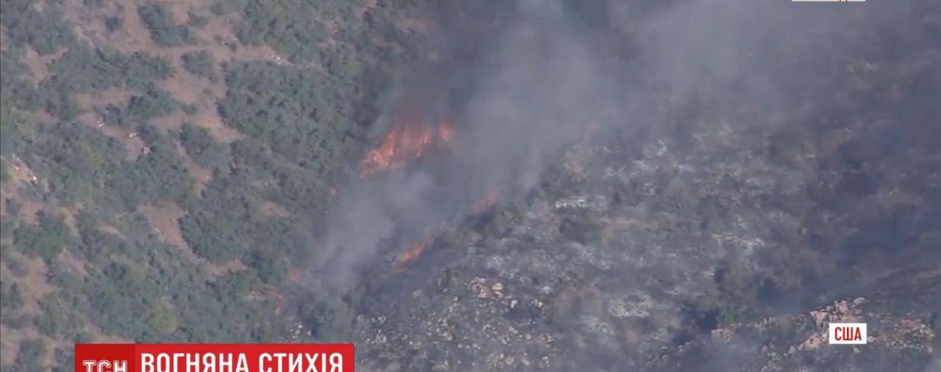 В американському штаті Аризона палає Національний заповідник: знищено 20 га території