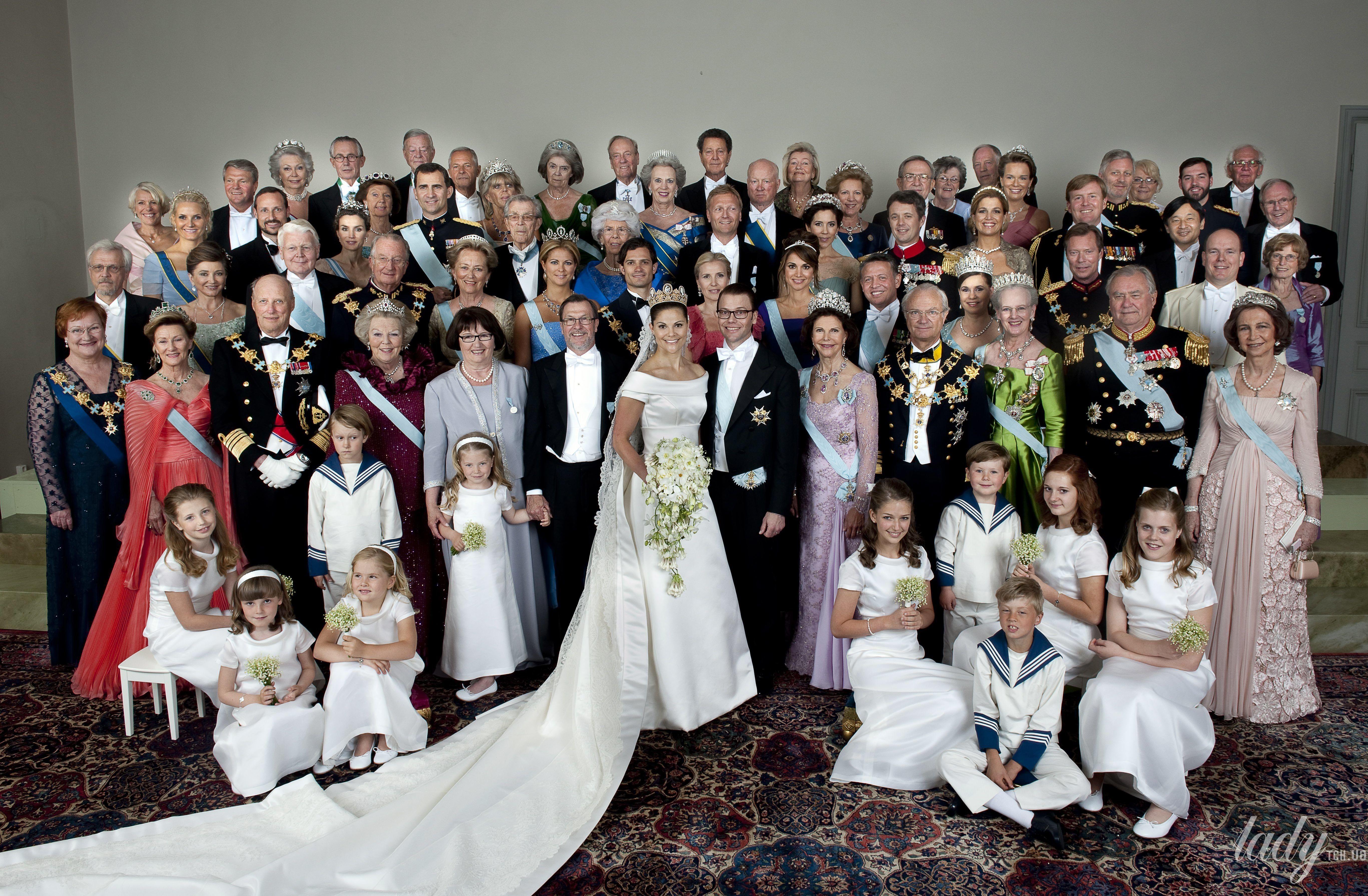 Свадьба кронпринцессы Виктории и принца Даниэля