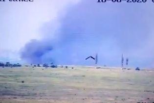 Українські військові влаштували засідку для бойової машини російських найманців і підірвали її