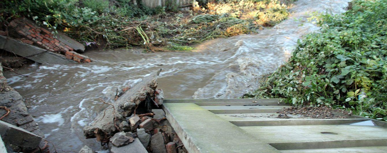 Три района Львовской области подтоплены из-за разлива рек