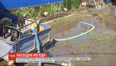 Потужні зливи пройшли у Вінницькій області