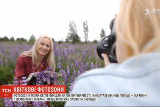 Фотосесії у полях квітів вийшли на пік популярності в Україні