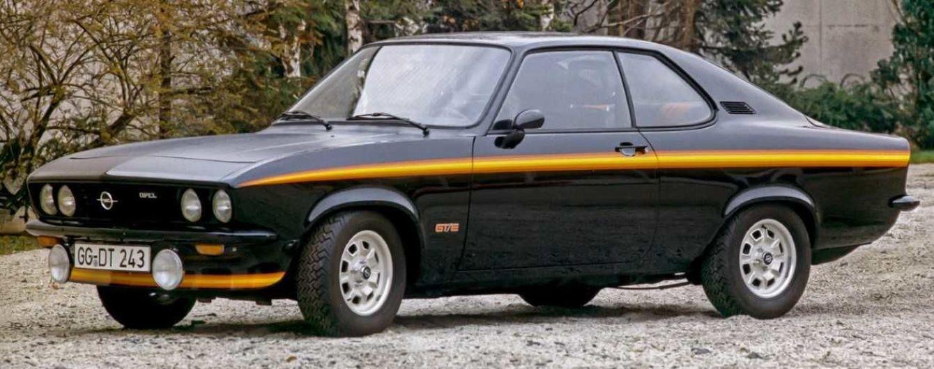 Легенді Opel 50 років: морський диявол на ім'я Manta