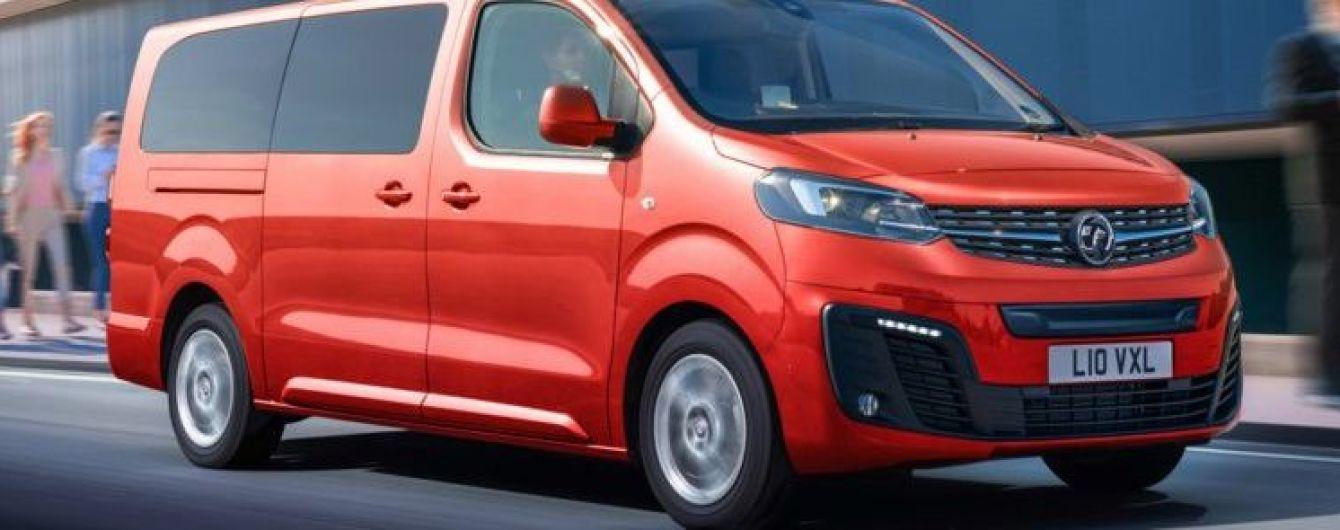 Opel представил электрофургон с запасом хода в 230 км
