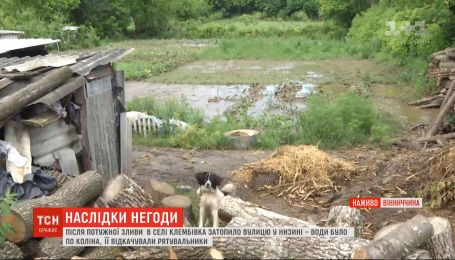 У Одеській та Вінницькій областях злива затопила двори й будинки
