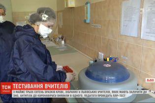 Во Львове на коронавирус проверили почти 300 учителей, участвующих в проведении ВНО
