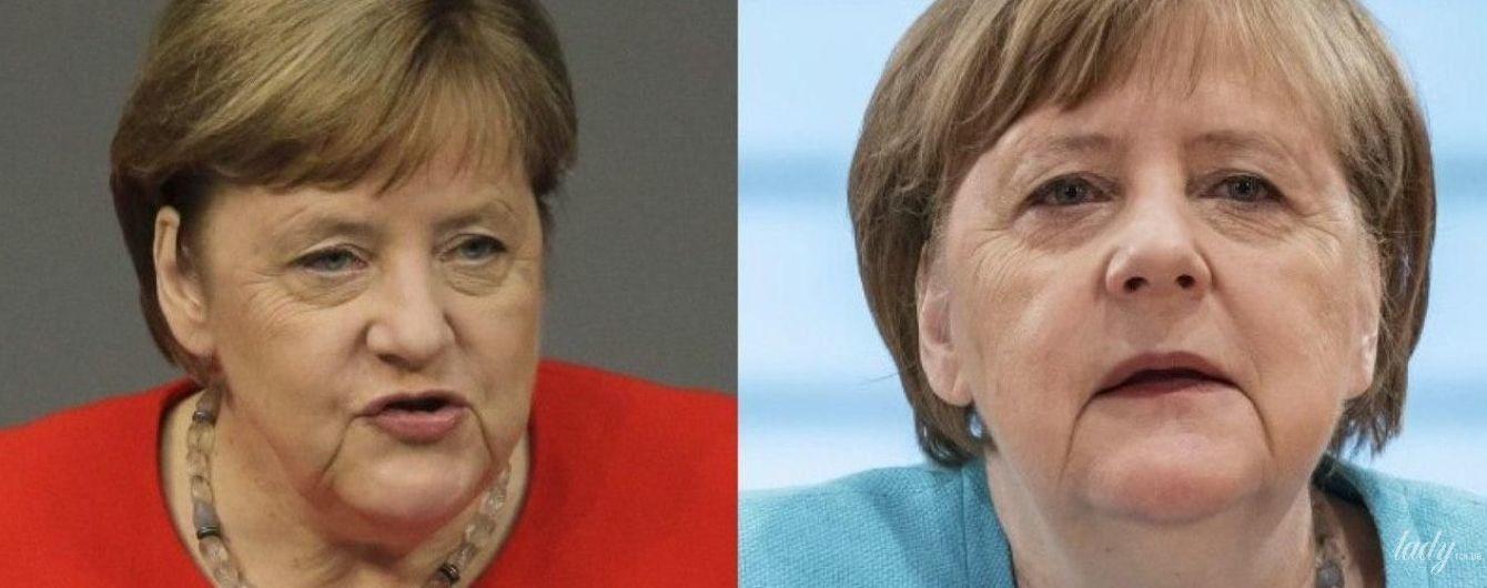 Битва жакетов Ангелы Меркель: красный vs голубой