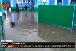 Винницкой областью прошлись мощные ливни: массово затопило дворы