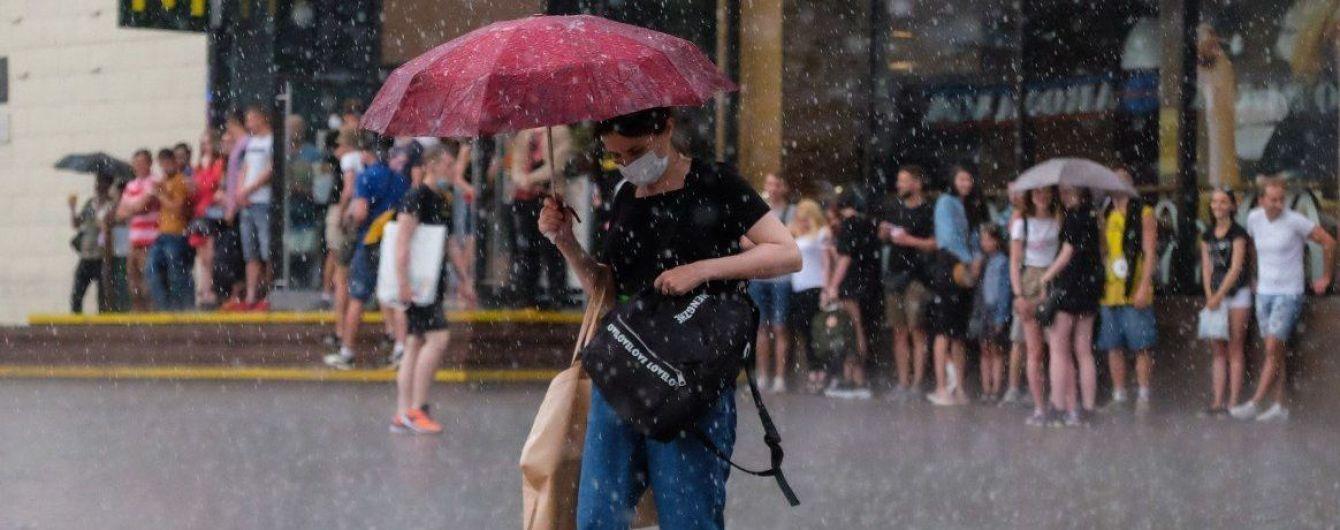 Синоптики предупредили о грозе в Киеве и объявили штормовое предупреждение