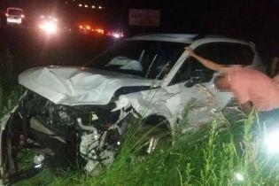 Вблизи Львова пьяный водитель разбил четыре машины