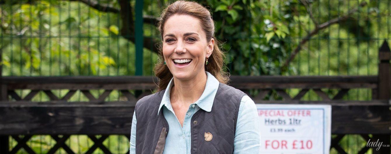 Вільям - в булочну, Кейт - в садовий центр: Кембриджі вийшли на роботу в графстві Норфлок