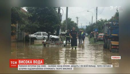 Повінь у Європі – від злив потерпають Румунія та Польща