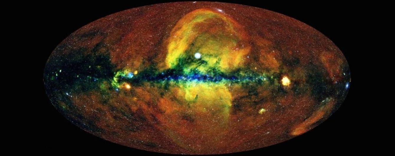 Вчені показали детальну рентгенівську карту неба із мільйоном об'єктів